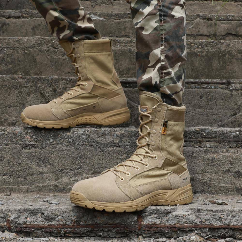Men's Breathable Military Shoes