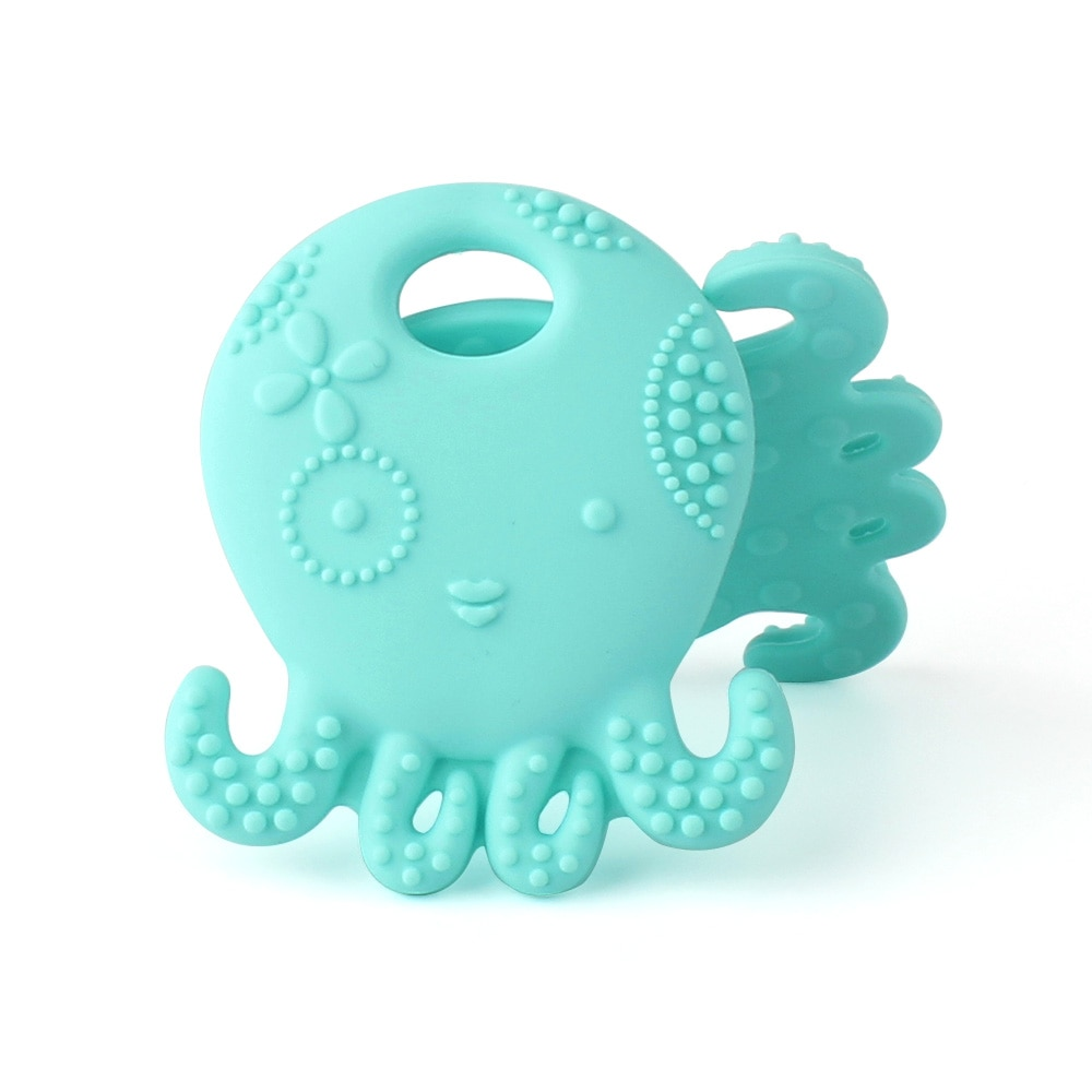Octopus Shaped Baby Teether