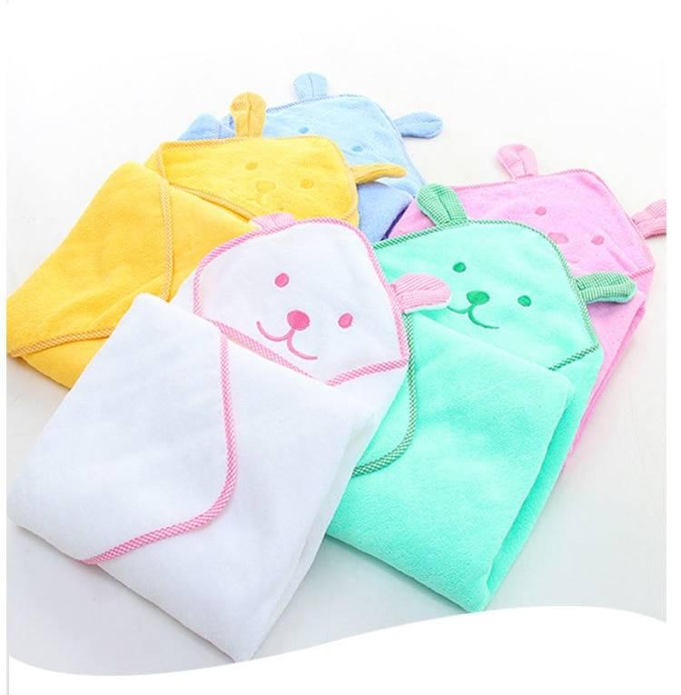 Babies Bath Hooded Towel