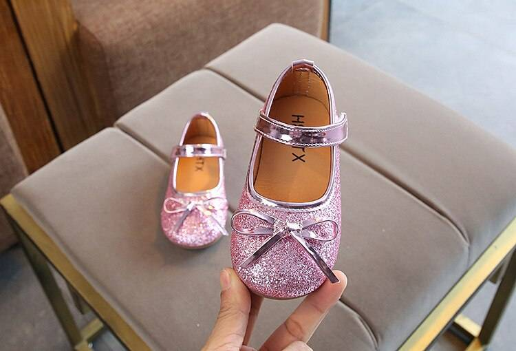 Baby Girl's Sparkling Princess Shoes