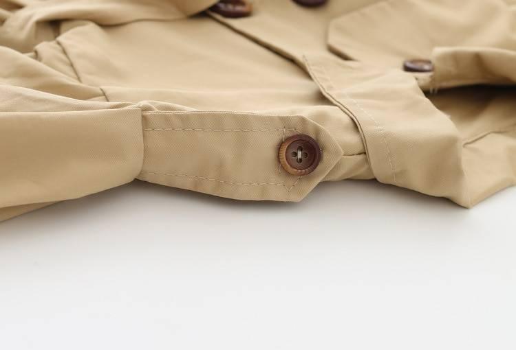 Baby Girl's Trench Coat