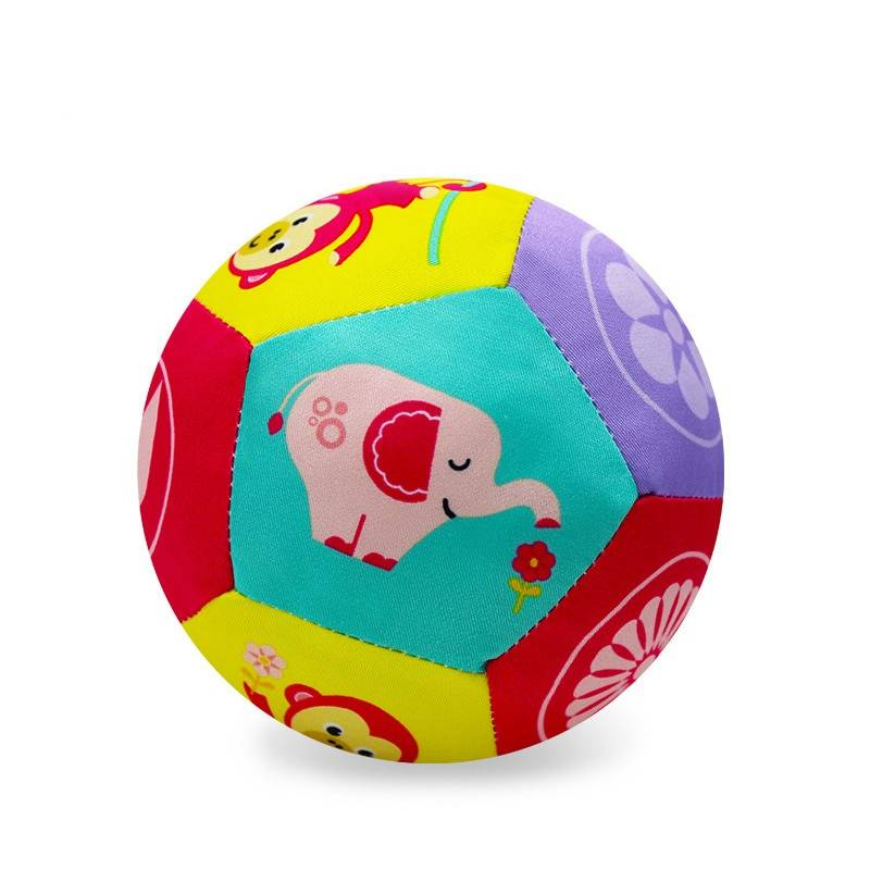 Baby Soft Plush Ball Toy with Sound