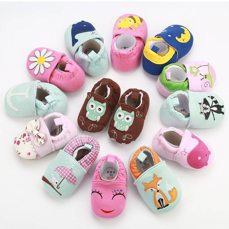 Baby's Anti-Slip First Walkers