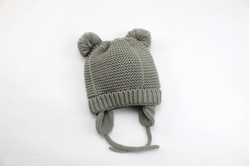 Baby's Warm Hat with Ears