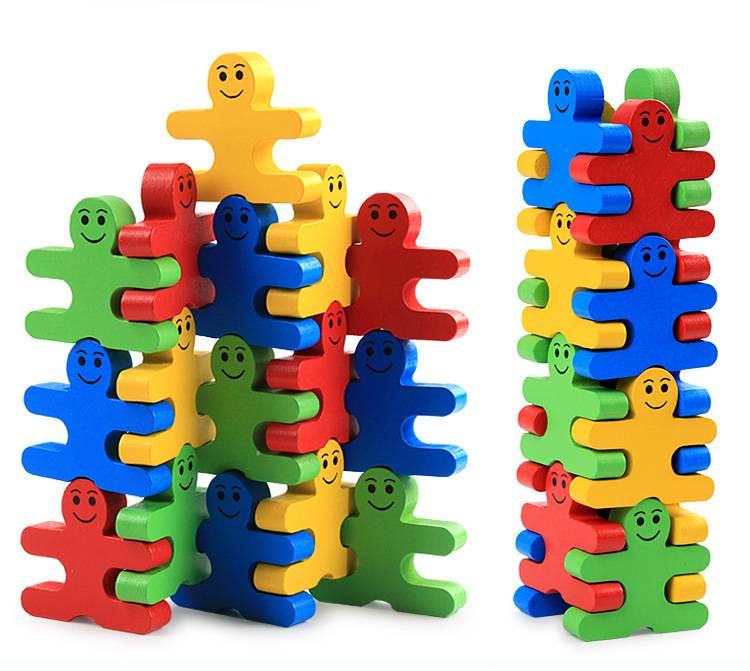 Children's Montessori Educational Wooden Toy Set 16 Pcs