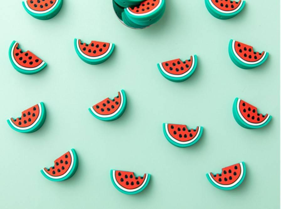 Fruit Shaped Baby Teether 5 Pcs Set