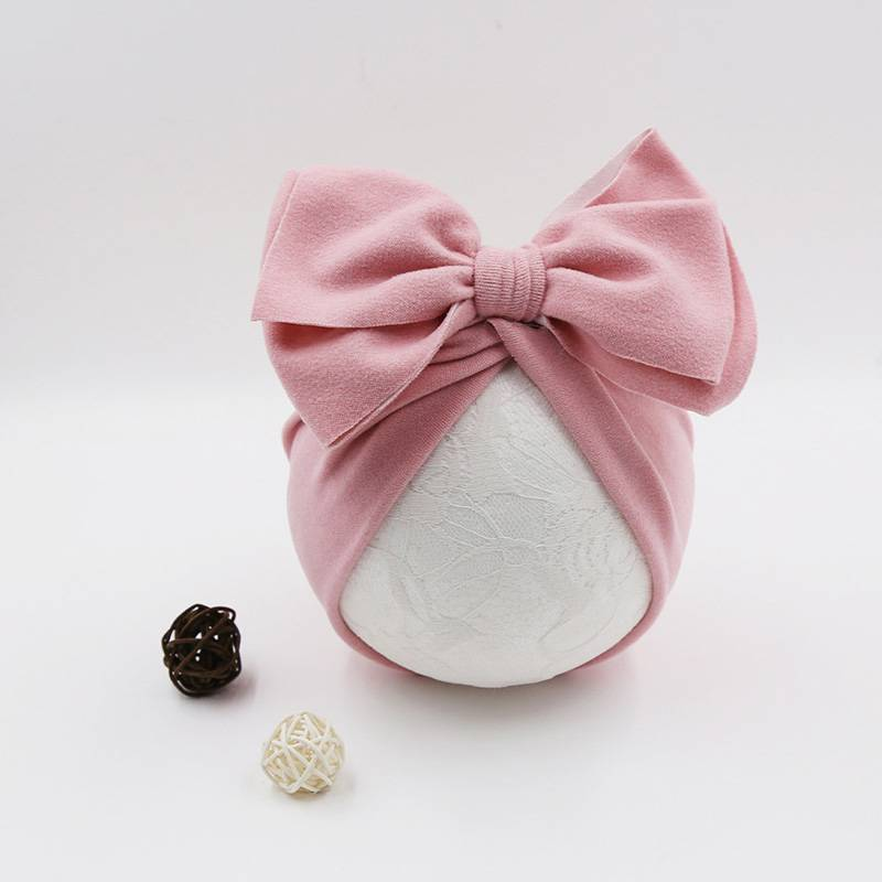 Girl's Cotton Turban Hat
