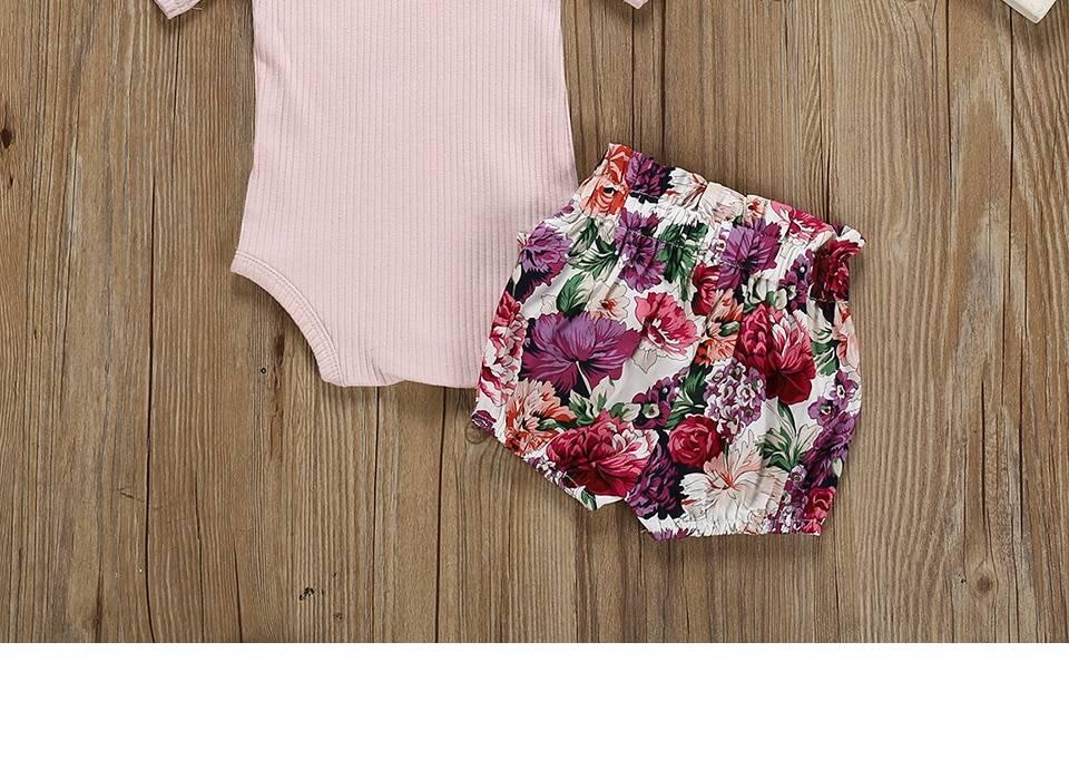 Girls Summer Clothing Set