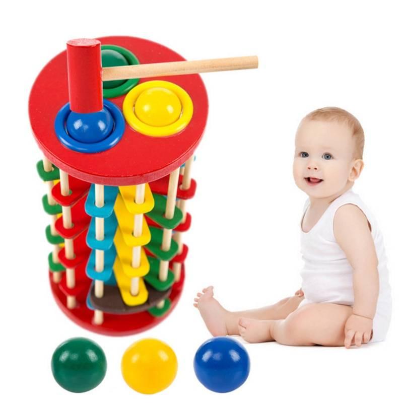 Kid's Knock The Ball Montessori Toy