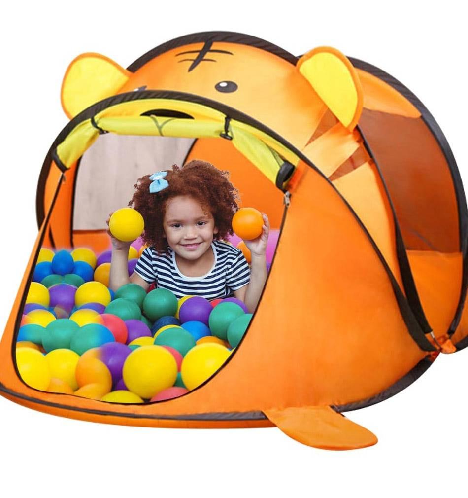 Portable Cartoon Tiger/Bear Kid's Play Tent