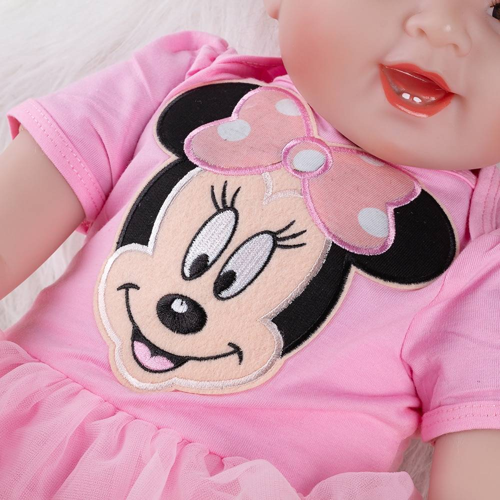 Silicone Baby Doll Toy