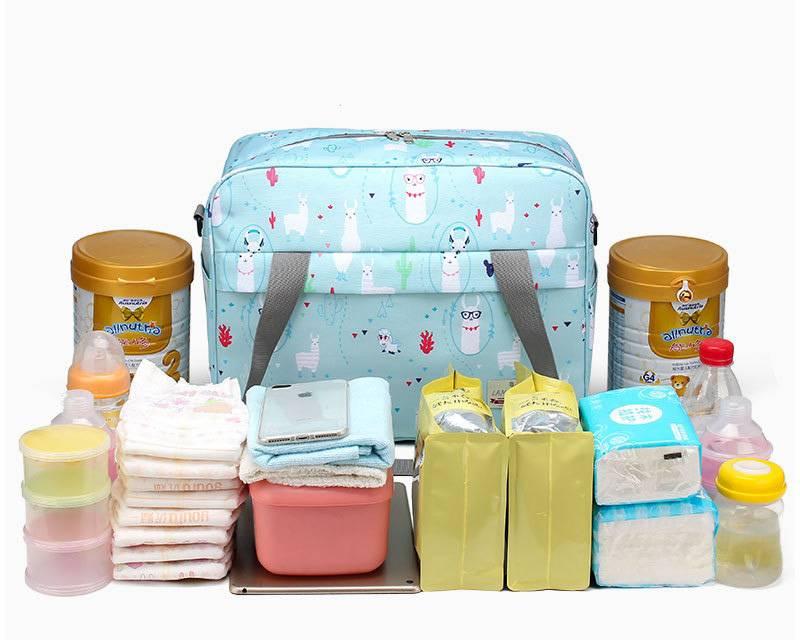 Waterproof Diaper Shoulder Bag